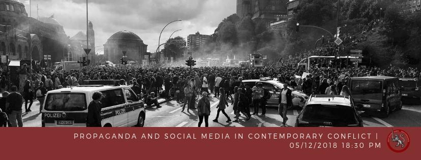 WSS Panel: Social Media and Propaganda in ContemporaryConflict